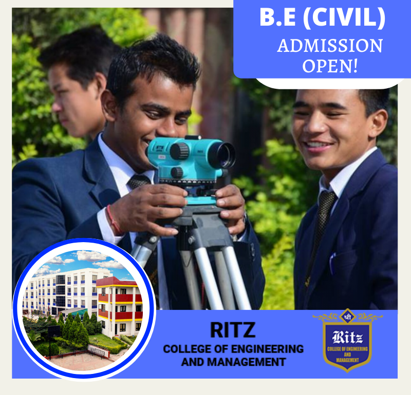 Admission Open for BE(Civil Engineering)
