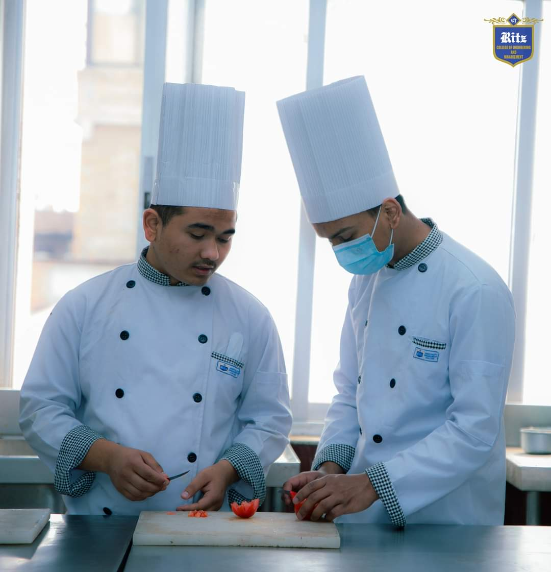 Two Student from Ritz College working